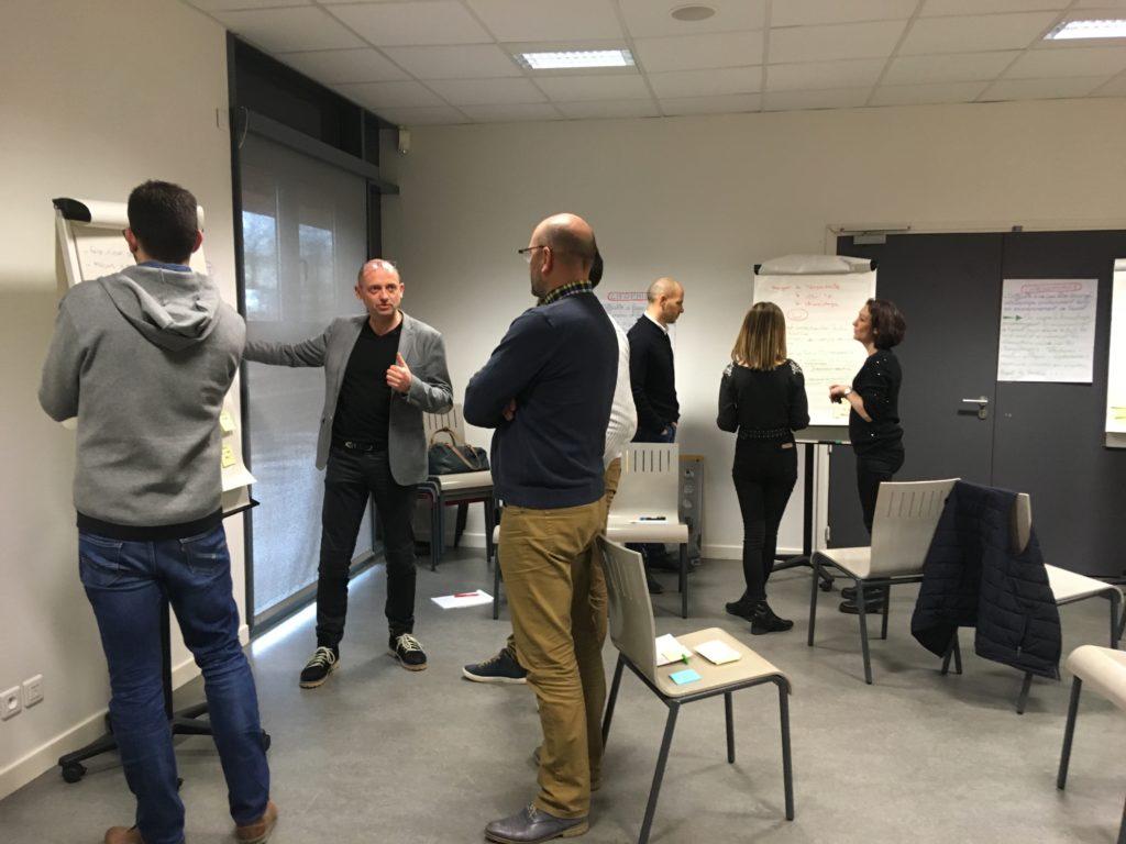 Formation Cholet et alentours Coaching d'équipe Gestion du temps Atelier cohésion les liens agiles